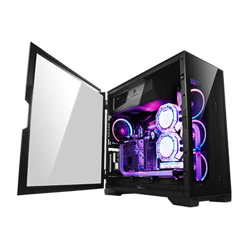 Antec, P120, Crystal, Tempered, Glass, ATX, E-ATX, Powerful, Heat, Dissipation, VGA, Holder, Horizontal, and, Vertical, Scalabilit,