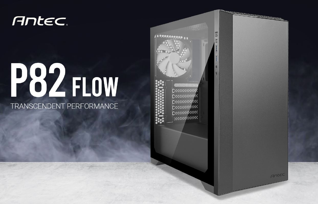 Antec, P82, Flow, 4x, 140mm, White, Fan., Extreme, Cooling, Configurations, VGA, 380mm, CPU, 178mm, PSU, 220mm, ATX, M-ATX, ITX, Cas,