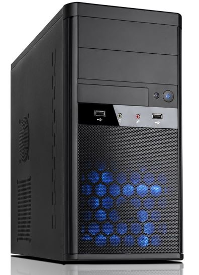 Aywun, 208, mATX, System, Case, with, 500w, PSU., 24PIN, ATX, 1x, USB3+1x, USB2, HD, Audio., No, Fan., 2, yrs, Warranty., (LS),