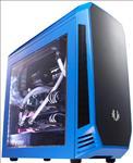 BitFenix, Aegis, mATX, case, Blue, Supports, Std, PS2/ATX, PSU, (LS),