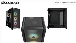 Corsair, Obsidian, 7000x, RGB, TG, Tower, Case, Mini-ITX, M-ATX, ATX, E-ATX, 3x, 140, RGB, PWM, Fan, USB, 3.1, Type, C, 10x, 2.5, 6x, 3,
