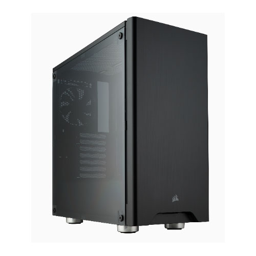 Corsair, Carbide, 275R, Black, ATX, Mid-Tower, Case., Side, Window., No, Top, magnetic, mesh, filter., Two, Years, Warranty,