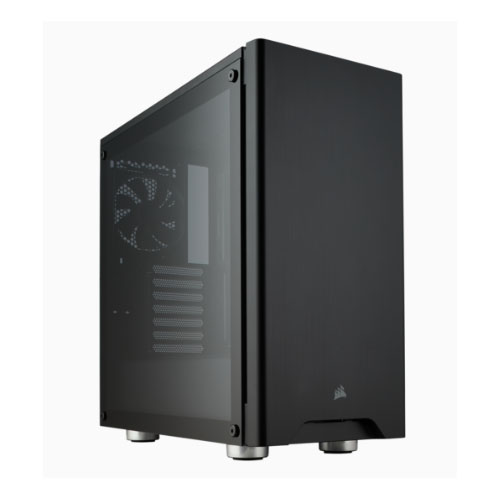 Corsair, Carbide, 275R, Black, Tempered, Glass, Solid, ATX, Mid-Tower, Case.,