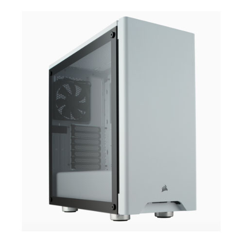 Corsair, Carbide, 275R, White, Tempered, Glass, Solid, ATX, Mid-Tower, Case.,