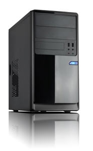 Casecom, CM13, Black, mATX, w/550W, 1x, USB3.0+1xUSB2.0, HD, Audio,