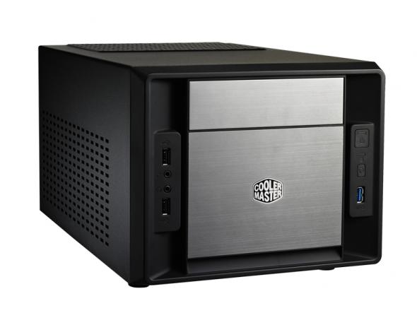 Coolermaster, Elite, 120, Advanced, Mini-ITX, Case, No, PSU., 1xUSB3.0+USB2.0, Supports, Standard, ATX, PSU,