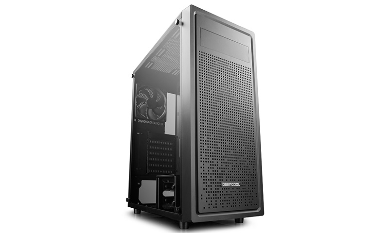 Deepcool, E-Shield, E-ATX, PC, Case, Tempered, Glass, Side, Panel,