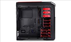 Deepcool, Kendomen, RD, Mid-Tower, Case, 5, Fans, Pre-installed, Red,