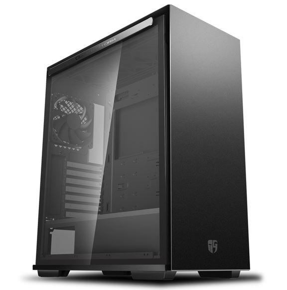 Deepcool, MACUBE, 310, BK, Tempered, Glass, Case, Black, USB3.0*2, 7+2, SLOTS, Mini-ITX/mATX/ATX,