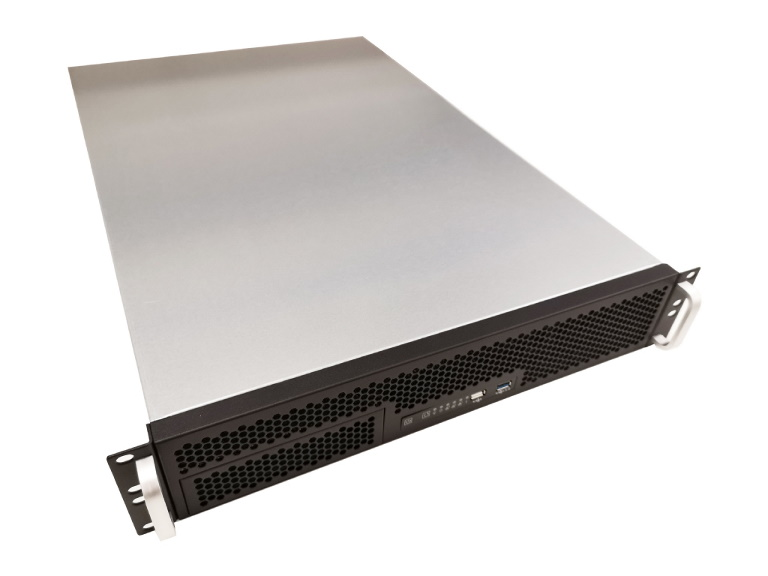 "TGC, Rack, Mountable, Server, Chassis, 2U, with, 6, Fixed, HDD, Bays, 3, optional, 2.5"", HDD, Bays, -, no, PSU, (LS),"
