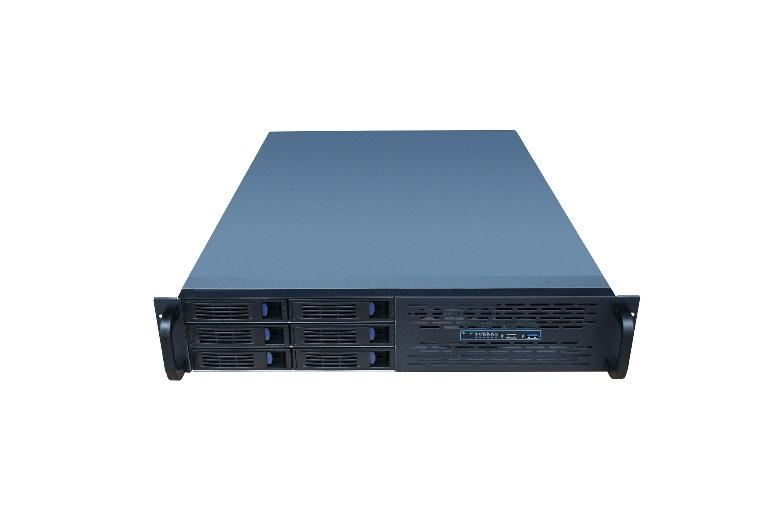 TGC, Rack, mountable, Server, Chassis, 2U, Server, Case, w/, 6x, 3.5, Hot-Swappable, SATA/SAS, Drive, Bays, +, 2, x, 5.25, 550mm, Deep, Bla,