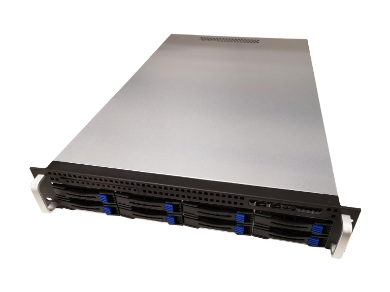 TGC, 2U, Rackmount, Server, Case, w/, 8x, 3.5, Hot-Swappable, SATA/SAS, Drive, Bays, MiniSAS, BP, +, 2, x, 2.5, Internal, O/S, +, 1, x, Slim,