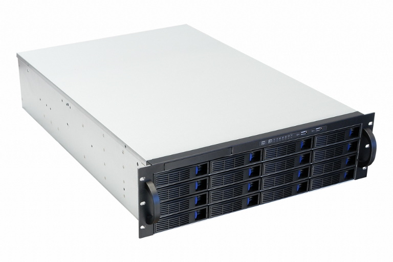 TGC, Rack, Mountable, Server, Chassis, 3U, 16-bay, Mini-SAS, Hot-swap, Rack, Mountable, Server, Chassis, -, no, PSU,
