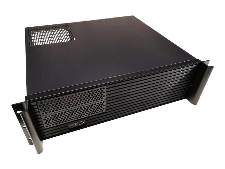 TGC, Rack, Mountable, Server, Chassis, 3U, 380mm, Depth, with, ATX, PSU, Window, -, no, PSU,