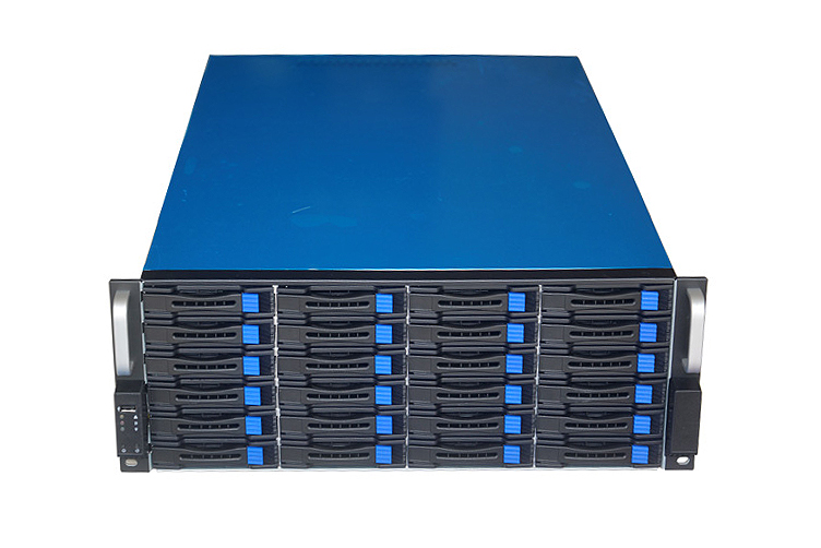 TGC, Rack, Mountable, Server, Chassis, 4U, 24-Bays, Hotswap, 680mm, Depth,