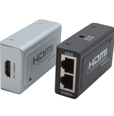 Cabac, HDMI, Extender, Via, RJ45, HDCP, Up, to, 1080p, LS,