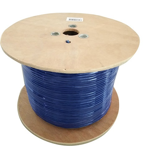 8Ware, Cat6A, Underground/External, Shield, Cable, Roll, 350m, Blue, Bare, Copper, Twisted, Core, PVC, Jacket,