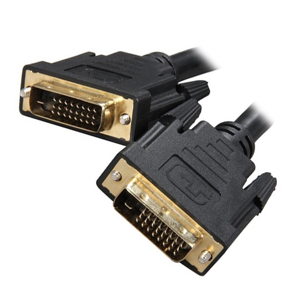 8Ware, DVI-D, Dual-Link, Cable, 2m, -, 28, AWG, Dual-link, DVI-D, Male, 25-pin,