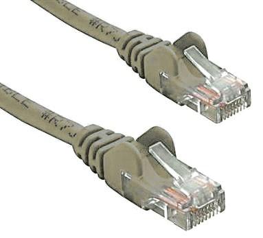 8Ware, RJ45M, -, RJ45M, Cat5e, UTP, Network, Cable, 0.5m(50cm), Grey,