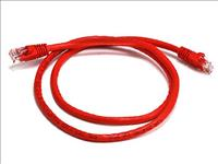 8Ware, Cat6a, UTP, Ethernet, Cable, 0.5m, (50cm), Snagless Red,