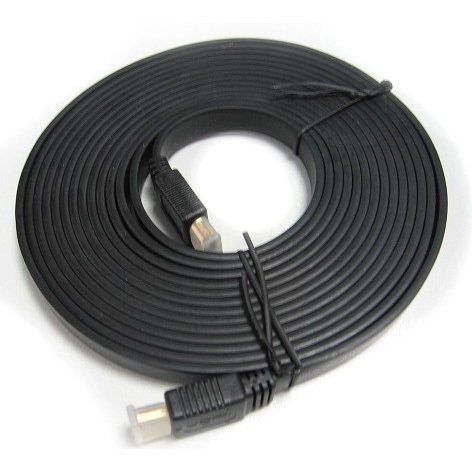 8Ware, High, Speed, HDMI, Flat, Cable, 2m, Male, to, Male, LS-, CBAT-HDMI-MM-2,