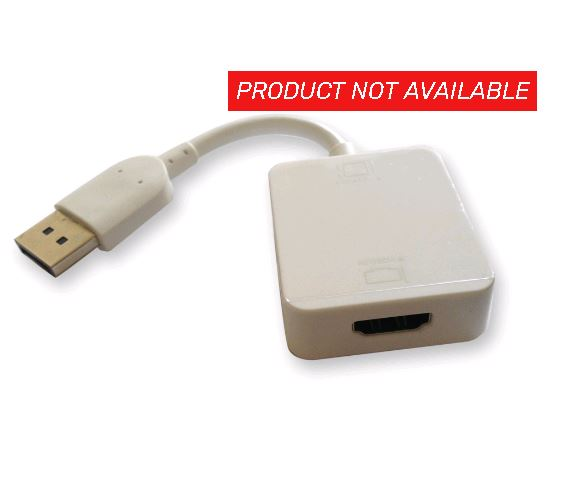 ALOGIC, HDMI, to, DisplayPort, Active, Adaptor-Converts, HDMI, Output, from, PC, to, DisplayPort, Display, (LS),