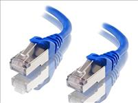 Astrotek, CAT6A, Shielded, Ethernet, Cable, 40m, Blue, Color, 10GbE, RJ45, Network, LAN, Patch, Lead, S/FTP, LSZH, Cord, 26AWG,