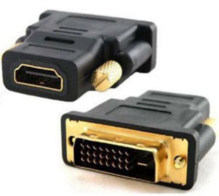 Astrotek, DVI-D, to, HDMI, Adapter, Converter, Male, to, Female,