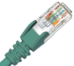 Connectland, 3M, Cat6, Green, Green, Patch, Lead, RJ45,