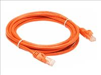 Hypertec, 2m, Cat5, RJ45, Orange, Orange, Patch, Lead, RJ45, (LS),