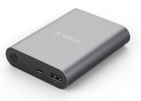 Orico, 10400mah, Power, Bank, -, Aluminium, -, Micro, USB, Input, -, 5V, 2A, USB, Output, (LS),