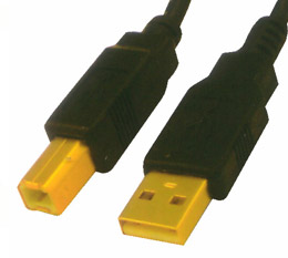 Cabac, 2m, USB2, Printer, Cable, Cable, A-B, 2, Metres, -, CBAT-USB-AB-2M,