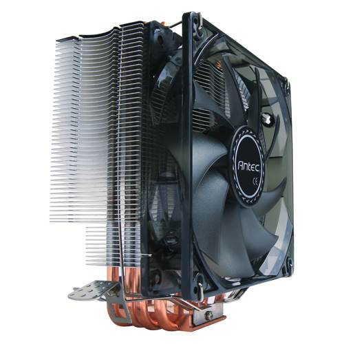 Antec, C400, Air, CPU, Cooler, 120mm, Blue, LED, 77, CFM, Intel, 775, 115X, 1366, 2011, 2066, AMD:, AM2, AM2+, AM3, AM3+, FM1, FM2,