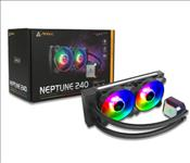Antec, Neptune, 240, ARGB, Advanced, Liquid, CPU, Cooler, PWM, LED, Fan, PTFE, Tubing, LGA, 115x, 2011-v3, 2066, AM4, AM3+, FMx, 3, Y,