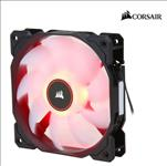 Corsair, Air, Flow, 120mm, Fan, Low, Noise, Edition, /, Red, LED, 3, PIN, -, Hydraulic, Bearing, 1.43mm, H2O., Superior, cooling, performan,