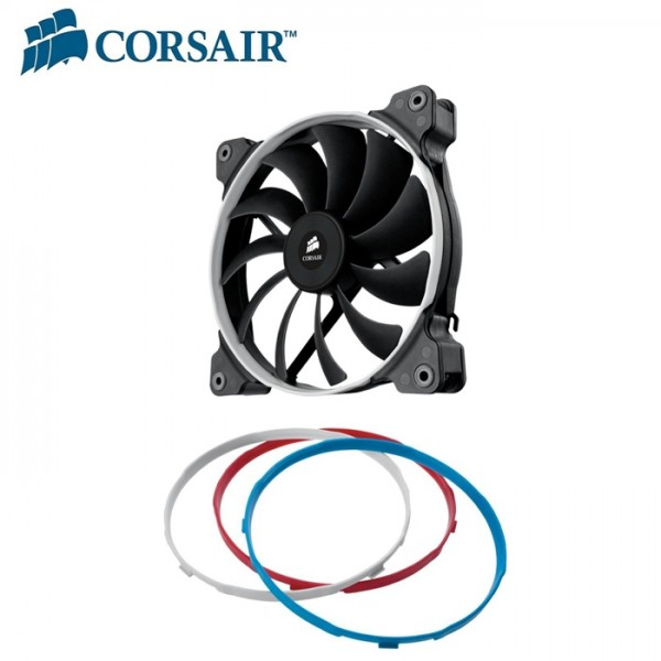 Corsair, Air, Flow, 140mm, Fan, Quiet, Edition, Single, Pack,