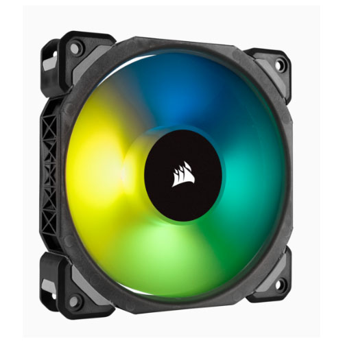 Corsair, ML120, PRO, RGB, 120mm, Premium, Magnetic, Levitation, RGB, LED, PWM, Fan, Single, Pack,