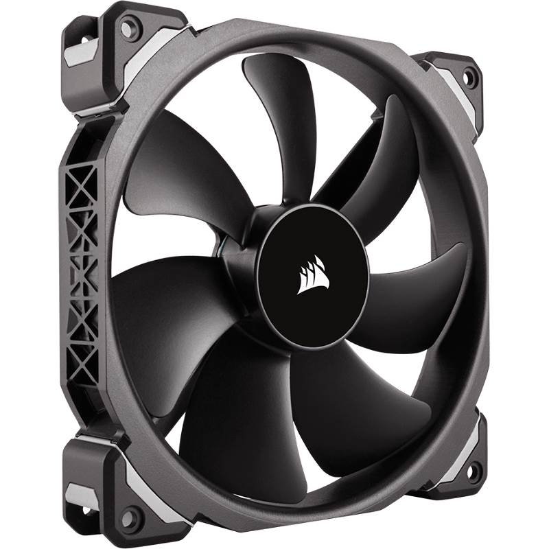 Corsair, ML140, PRO, 140mm, Premium, Magnetic, Levitation, Fan,
