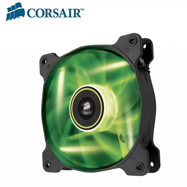 Corsair, SP, 140mm, Fan, Green, LED, High, Static, Pressure, 3, PIN, (LS),