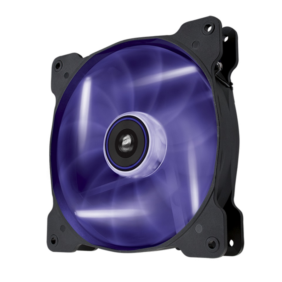 Corsair, SP, 140mm, Fan, Purple, LED, High, Static, Pressure, 3, PIN, (LS),