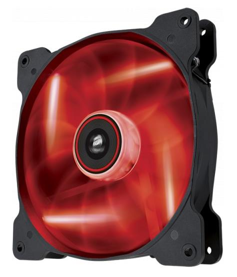 Corsair, SP, 140mm, Fan, Red, LED, High, Static, Pressure, 3, PIN, (LS),