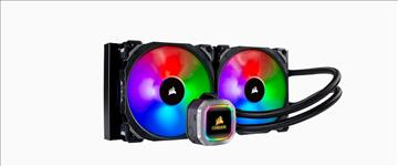 Corsair, Hydro, Series, H115i, 280mm, RGB, PLATINUM, Liquid, CPU, Cooler., 5, Years, Warranty,