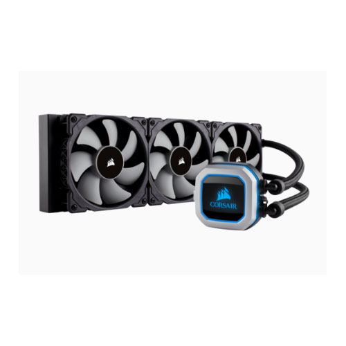 Corsair, H150i, PRO, RGB, 360mm, Radiator, Triple, 120mm, ML, Series, PWM, Fans, Advanced, RGB, Lighting, Control., Intel, 115x, Intel,