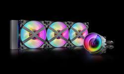 Deepcool, GamerStorm, Castle, 360EX, RGB, CPU, Liquid, Cooler, Intel, LGA2066/2011-v3/2011/LGA1200/1151, AMD, TRX4/TR4/AM4/AM3+/AM2,