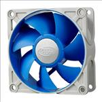 Deepcool, Ultra, Silent, 80mm, x, 25mm, Ball, Bearing, Case, Fan, with, Anti-Vibration, Frame, PWM,