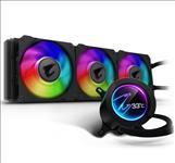 AORUS, CPU, LIQUID, COOLER, 360, W/LCD, DISPLAY, INTEL/AMD, SOCKET, 3, x, 120mm, RGB, FANS, 3YR, WTY,
