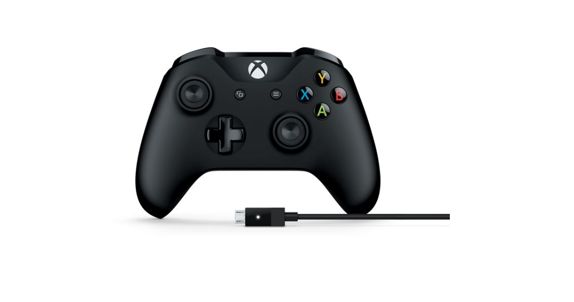 Microsoft, Xbox, Controller, +, Cable, for, Windows, (Wes,