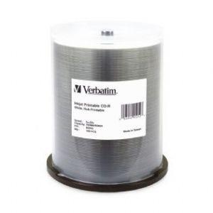 Verbatim, 100pk, CD-R, Spindle, IJ, Printable,