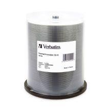 Verbatim, CD-R, 80, Min, WHT, THERM, 100, Pk, 52x,