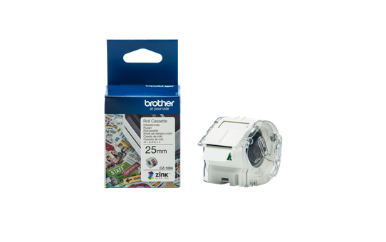 Brother, CZ-1004, Full, Colour, continuous, label, roll, 25mm, wide, to, Suit, VC-500W,